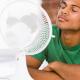 Entre climatiseur et ventilateur,